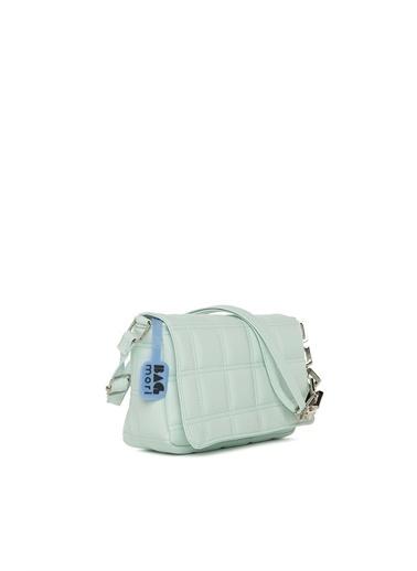 Bagmori  Kadın Nakışlı Kapaklı Mini Çanta M000004928 Yeşil